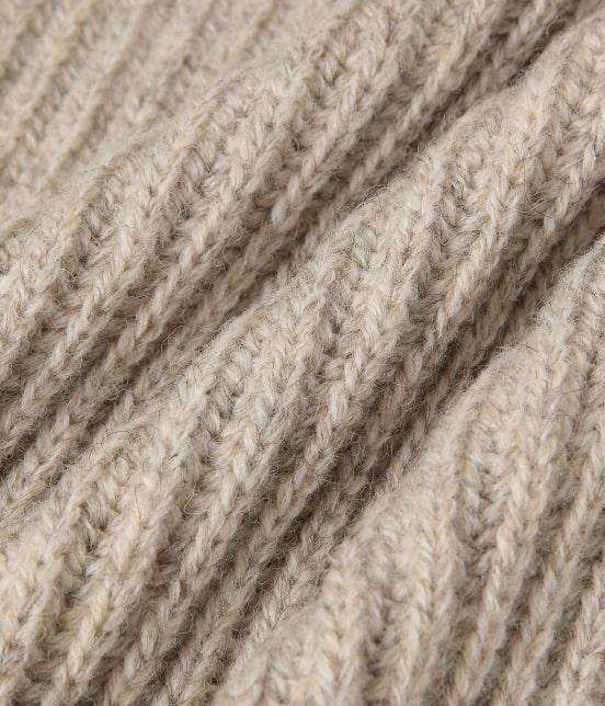 アダム エ ロペ ワイルド ライフ テーラー | 【BONCOURA】 Fisherman Sweater - 6