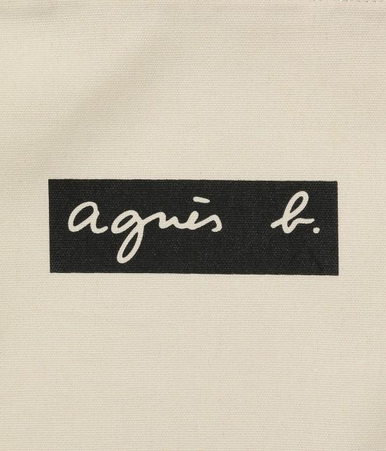 アダム エ ロペ ファム | 【agnes b. pour ADAM ET ROPE'】TOTE BAG WITH BOX LOGO - 2