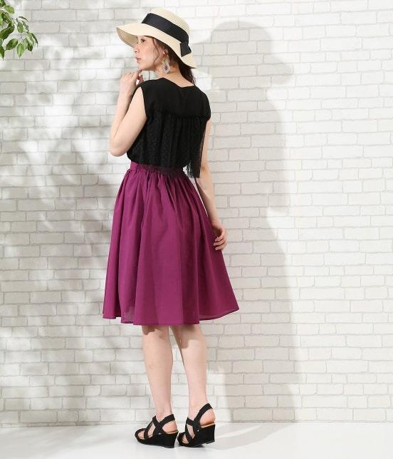 ロペピクニック   【TIME SALE】【HAPPY PRICE】サップギャザースカート - 10