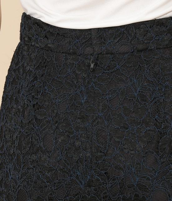 アダム エ ロペ ファム   カラーコード レースIラインスカート - 5