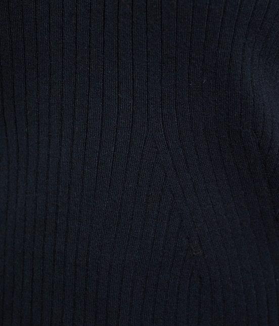 ロペピクニック | 【新色追加】Vネックリブプルオーバー - 5