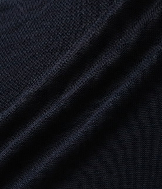 アダム エ ロペ オム | [山形ニット]綿麻天竺ニットベスト - 7