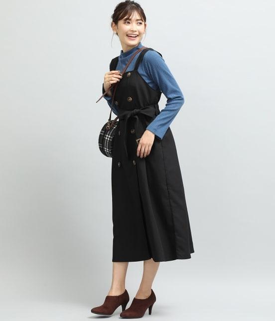 ビス   トレンチジャンパースカート - 14