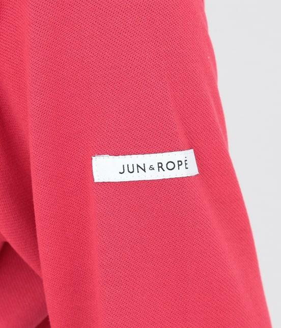 ジュン アンド ロペ | 【UVCUT】【吸水速乾】【接触冷感】ミリオンアイス長袖ポロシャツ - 5