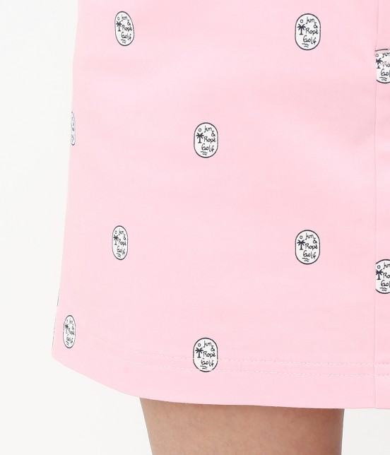 ジュン アンド ロペ | 【TIME SALE】ワッペン柄プリントカラーブロックスカート - 7