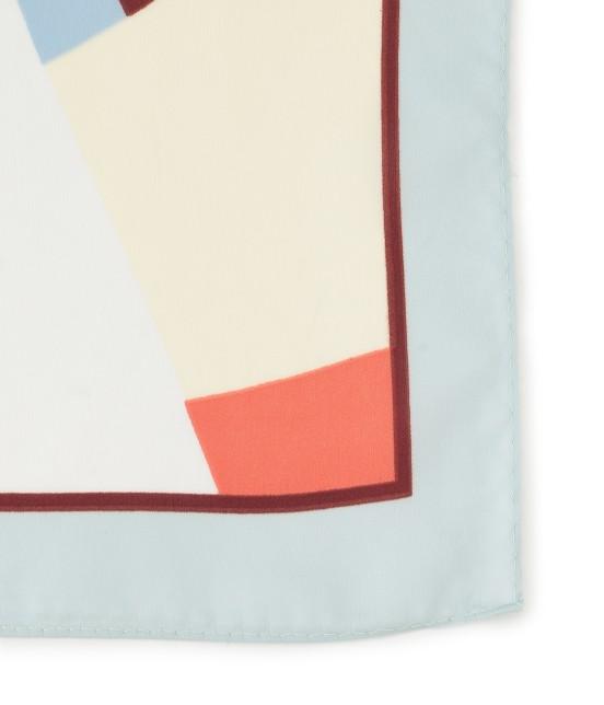 ロペピクニックパサージュ | 【TIME SALE】ランダムパネルプリントスカーフ - 1