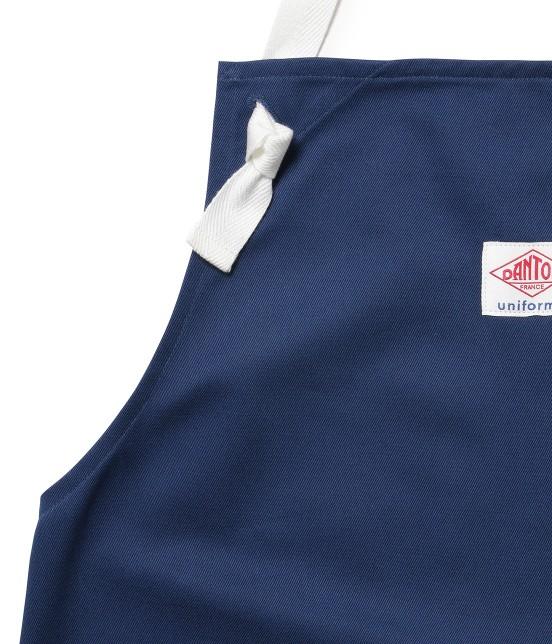サロン アダム エ ロペ ホーム   【DANTON uniforme】TWILL BIB APRON - 3