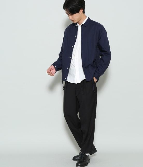ジュンレッド | 【mens FUDGE  10月号掲載商品】ブロードセミワイドカラーシャツ - 9