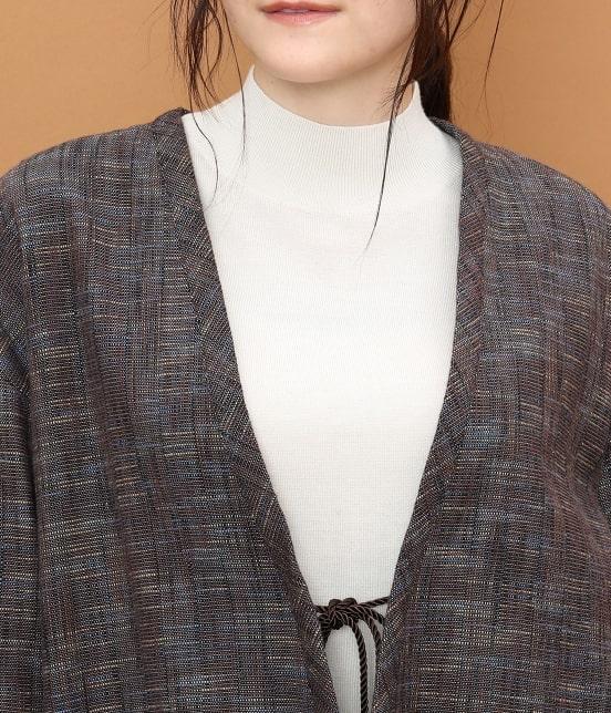 サロン アダム エ ロペ ウィメン | 【宮田織物 for SALON】スラブハンテンジャケット - 15