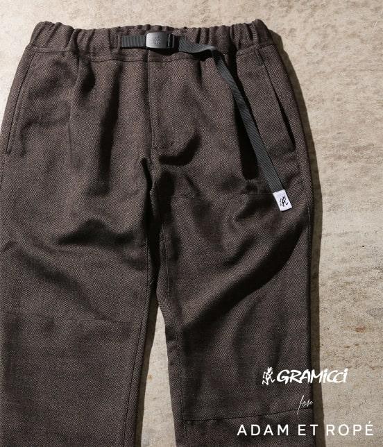 アダム エ ロペ オム   【GRAMICCI 別注】TWEEDY HERRINGBONE CRAZY PANTS - 19