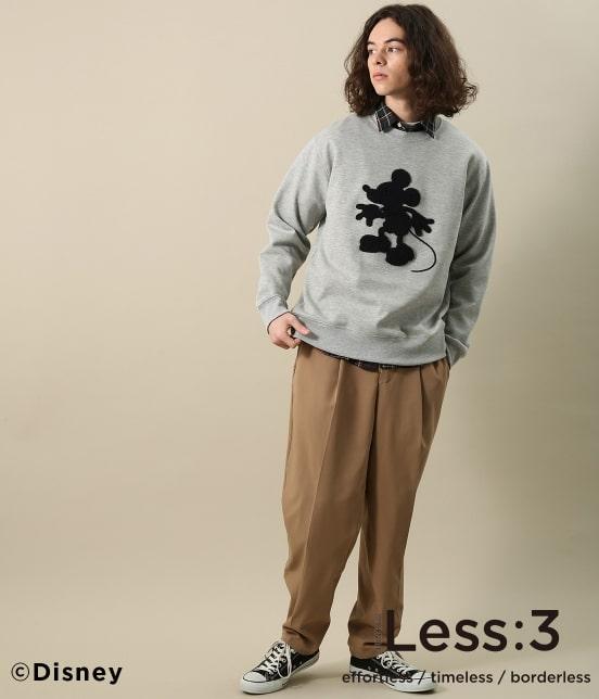 ジュンレッド | 【Less:3/レスリー】サガラミッキークルーネックスウェット - 12