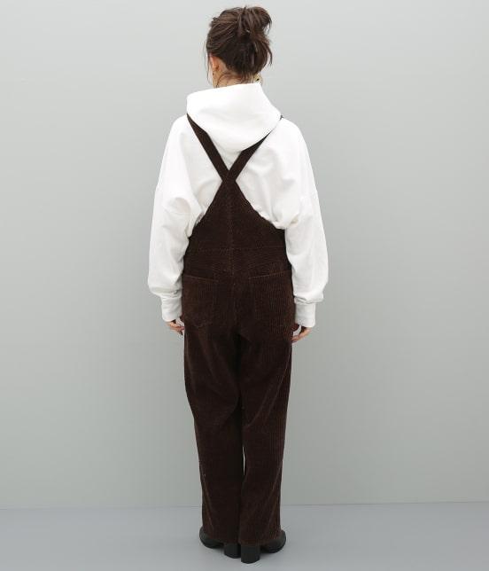 アダム エ ロペ ファム | 【福田織物×ADAM ET ROPE'】コーデュロイオーバーオール - 6