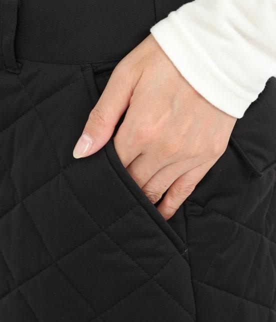 ジュン アンド ロペ | 【予約】【撥水】【防風】キルティングスカート - 7