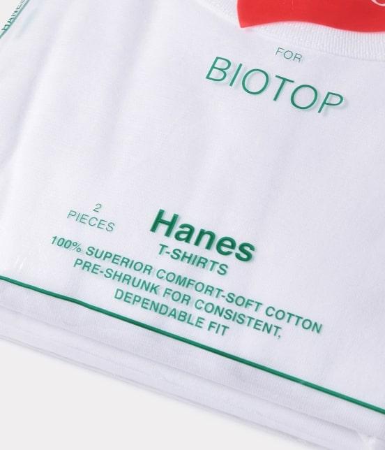 アダム エ ロペ オム | 【予約】【Hanes FOR BIOTOP】別注 2-Pack T-SHIRTS - 11