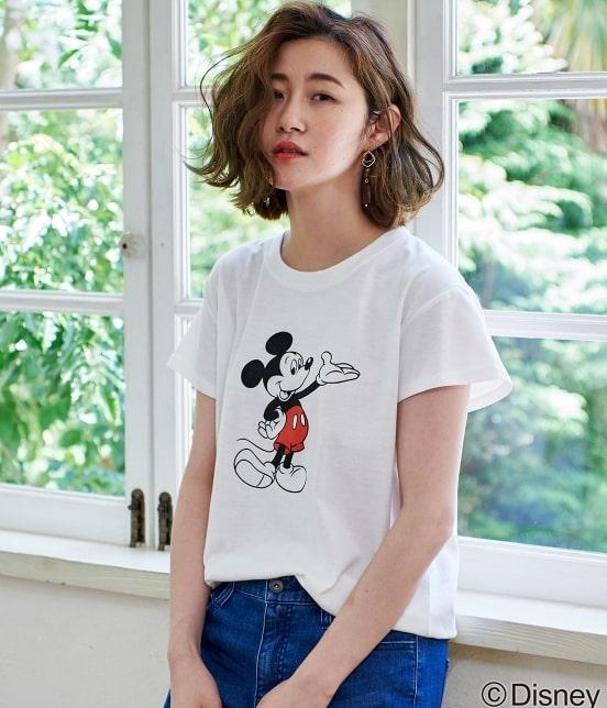 ロペピクニック   【DISNEY(ディズニー)】 MICKEY Tシャツ - 10