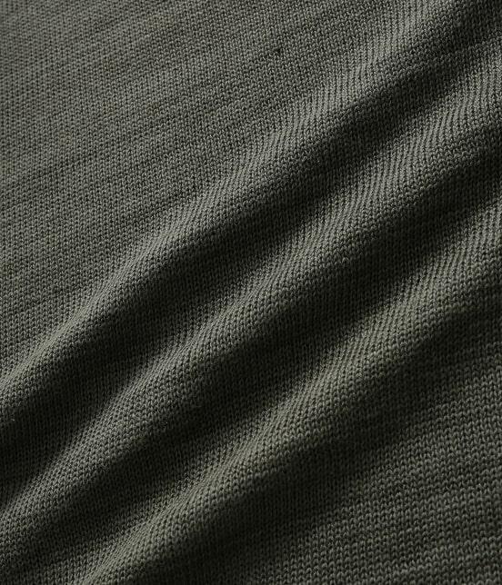 アダム エ ロペ オム | [山形ニット] 綿麻天竺クルーネックニット - 13