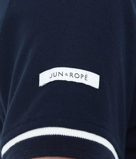 ジュン アンド ロペ | 【UVCUT】【吸水速乾】【接触冷感】ミリオンアイス半袖ポロシャツ - 8