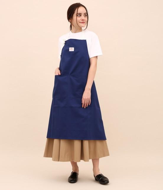 サロン アダム エ ロペ ホーム   【DANTON uniforme】TWILL BIB APRON - 7