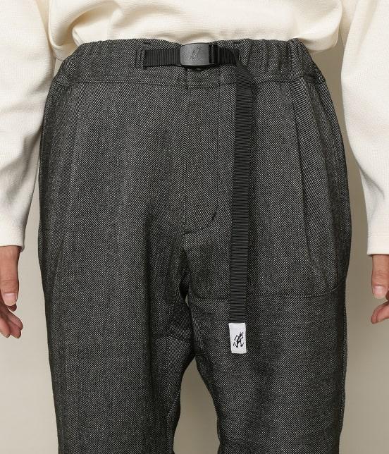 アダム エ ロペ オム   【GRAMICCI 別注】TWEEDY HERRINGBONE CRAZY PANTS - 7