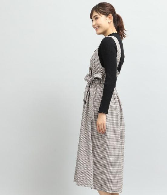 ビス   トレンチジャンパースカート - 1