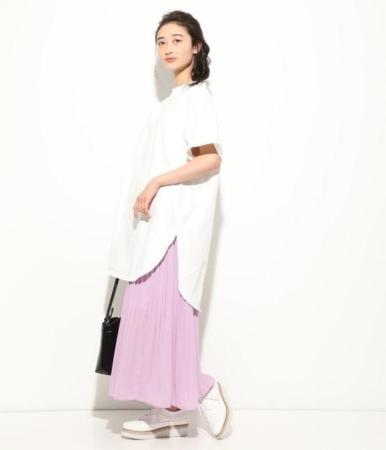 ビス   【WEB限定】半袖スリット入りTシャツ - 12