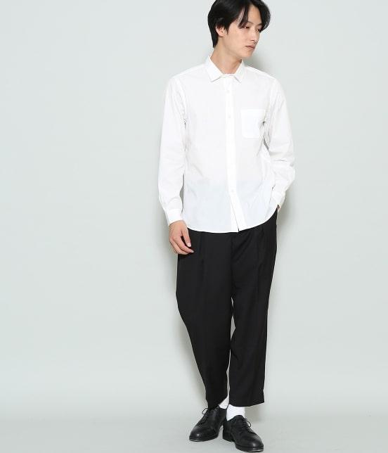 ジュンレッド | 【mens FUDGE  10月号掲載商品】ブロードセミワイドカラーシャツ - 7