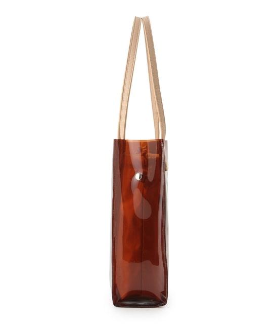 ロペピクニックパサージュ   メタリック巾着付ビニールトートバッグ - 1
