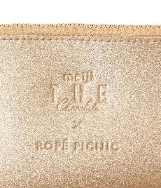 ロペピクニックパサージュ | 【meiji THE Chocolate×ROPE' PICNIC】エンボストートバッグ - 5
