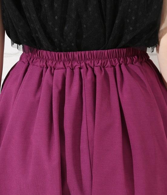 ロペピクニック | 【TIME SALE】【HAPPY PRICE】サップギャザースカート - 5