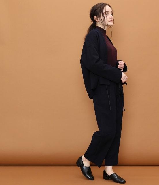 サロン アダム エ ロペ ウィメン | 【宮田織物 for SALON】スラブハンテンジャケット - 20