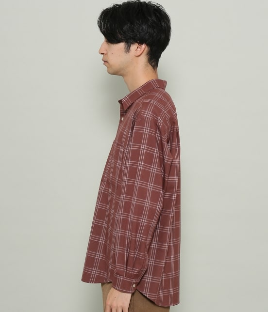 ジュンレッド | チェックリラックスシャツ - 18