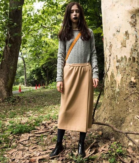 ロペ エターナル | 【TIME SALE】タスマニアウールラップスカート - 1
