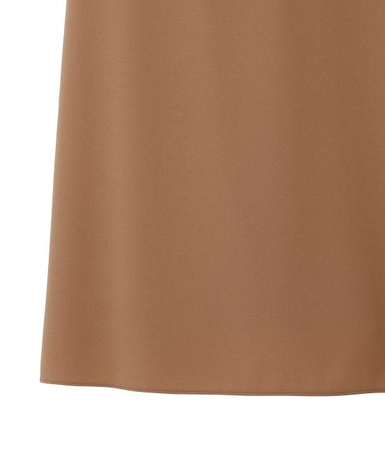ロペ エターナル | 【TIME SALE】ポリエステル クレープ ジョーゼット ぺプラムスカート - 7