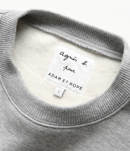 アダム エ ロペ ファム | 【agnes b. pour ADAM ET ROPE' 】SWEAT SHIRT - 9