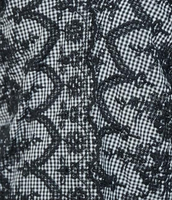 ロペピクニック | 【TIME SALE】スカラップ刺繍ブラウス - 7