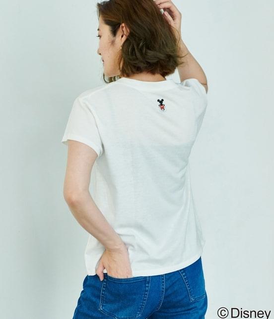 ロペピクニック | 【DISNEY(ディズニー)】 MICKEYロゴTシャツ - 11