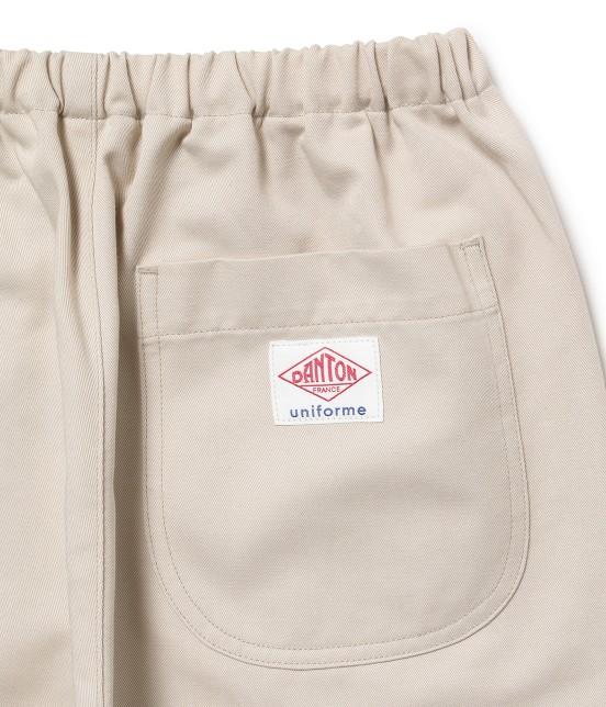 サロン アダム エ ロペ ウィメン   【DANTON uniforme】TWILL EASY PANTS - 3