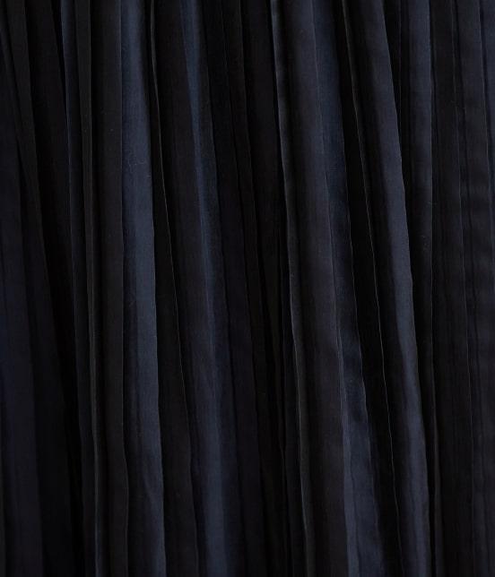 ロペピクニック | 【WEB限定カラー:ネイビー】シャイニープリーツスカート - 4