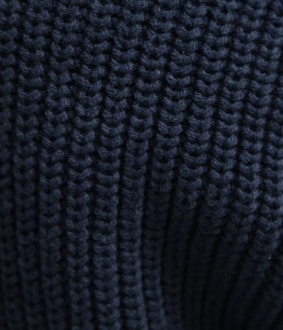 ビス | 畦編みコクーンショートカーディガン - 7