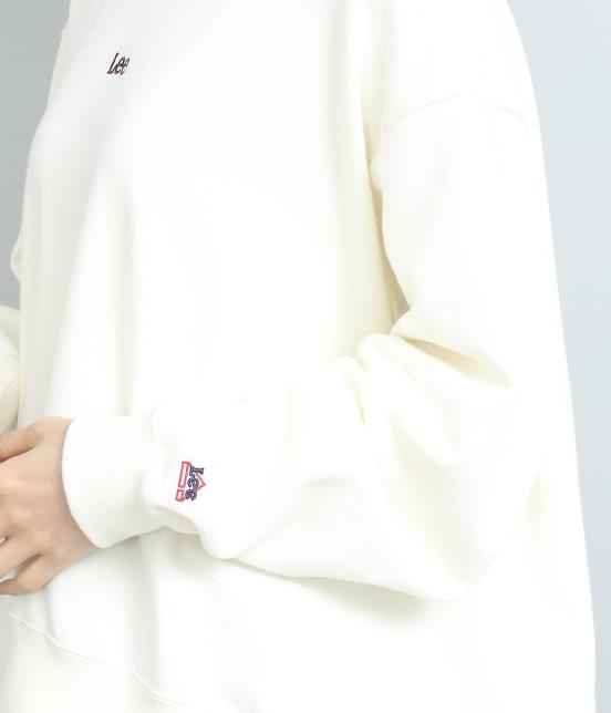 ビス | 【泉里香さん着用】【Lee×ViS】プチロゴ裏毛プルオーバー - 4