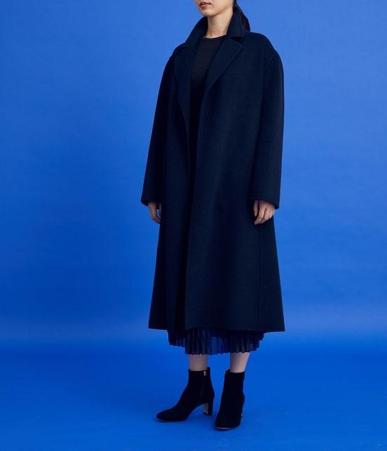 ロペ   【ロペシスターズコレクション 辻直子監修】ヤクビーバーテーラードコート - 6