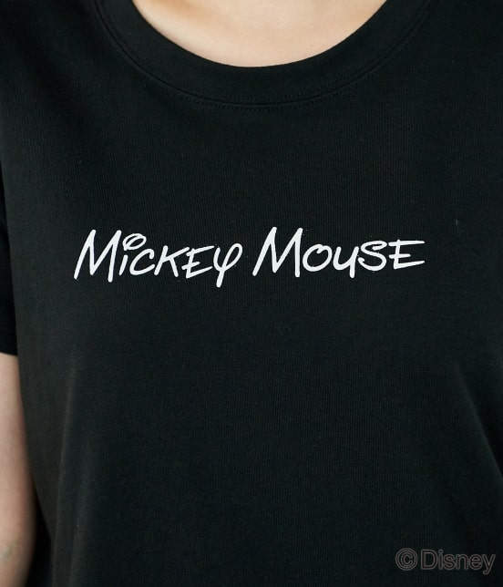 ロペピクニック | 【DISNEY(ディズニー)】 MICKEYロゴTシャツ - 5