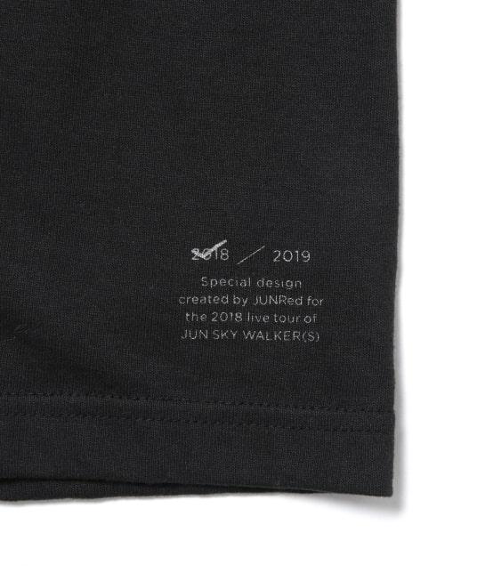ジュンセレクト   【JUN SKY WALKER(S)×JUNRed】ロングTシャツ - 7
