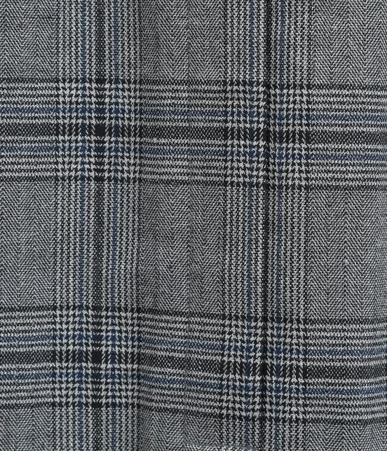 ビス | ヘリンボーンチェックタイトスカート - 6