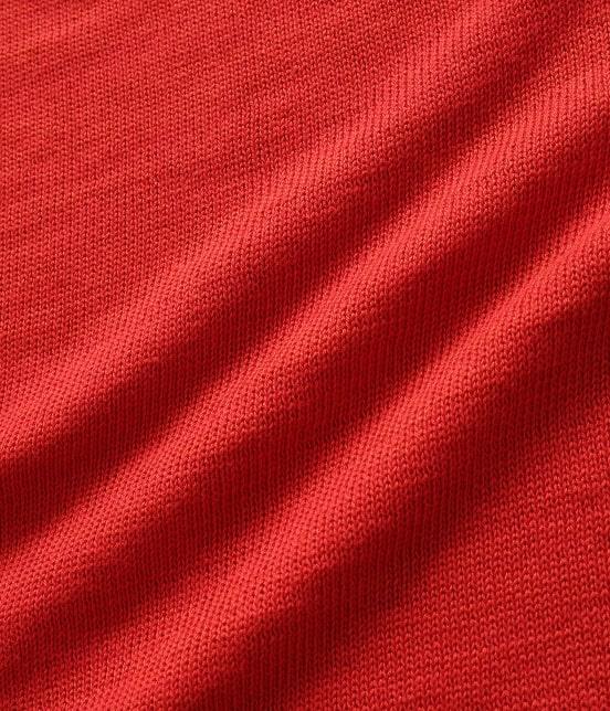 アダム エ ロペ オム   【予約】[山形ニット] 綿麻天竺クルーネックニット - 11