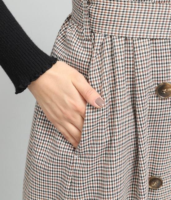 ビス   トレンチジャンパースカート - 7