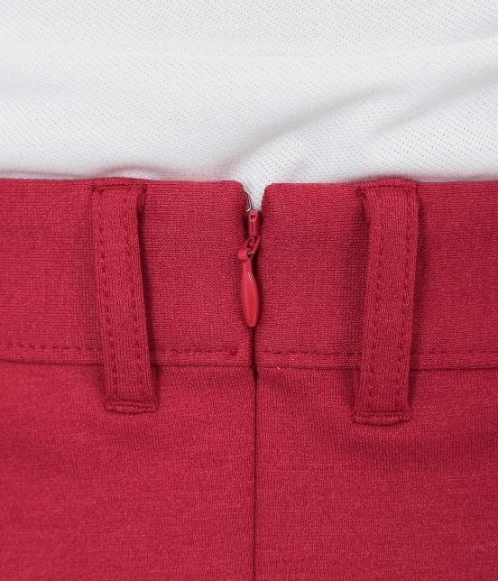 ジュン アンド ロペ | ポンチバイカラーラップスカート - 5