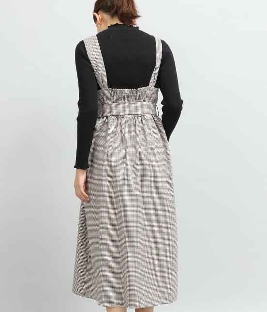ビス   トレンチジャンパースカート - 2