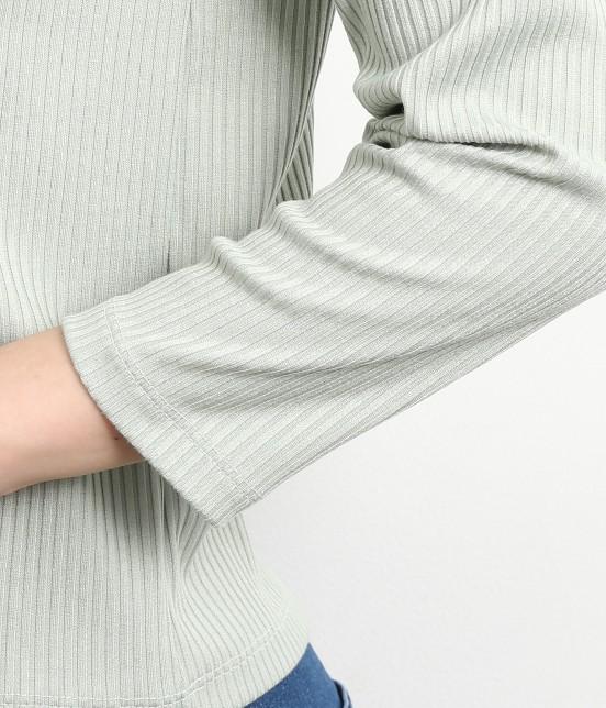 ロペピクニック | 【WEB限定】【2WAY】テレコスカラップ刺繍トップス - 4