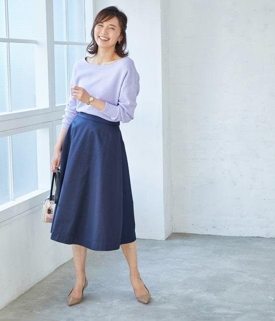 ロペ | 【SS/S/Lサイズあり】【2WAY】フラワープリントスカート - 15